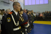 Открытие месячника оборонно-массовой и военно-патриотической работы состоялось в Шумихинском аграрно-строительном колледже 22 января