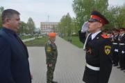 ВрИО директора С. А. Бородин наградил лучших кадет